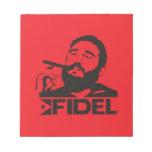 Fidel Castro Memo Note Pads