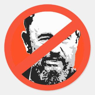 Fidel Castro Etiqueta Redonda