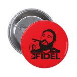 Fidel Castro Pinback Buttons