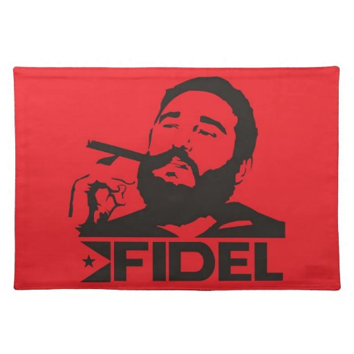 Fidel Castro Placemat