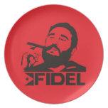 Fidel Castro Plates
