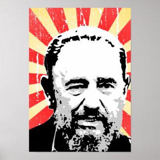 Fidel Castro Poster