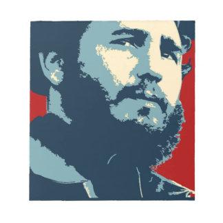 Fidel Castro - presidente cubano de la revolución Bloc De Notas