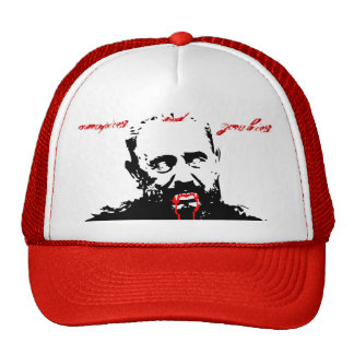 Fidel Castro Vampires and Zombies cap Trucker Hat