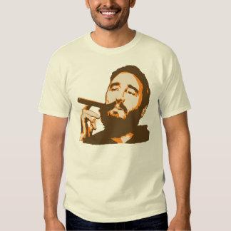 Fidel Castro with Cigar Portrait T-Shirt