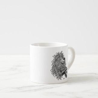 Fidel el pequeño Goblin del bosque Taza Espresso