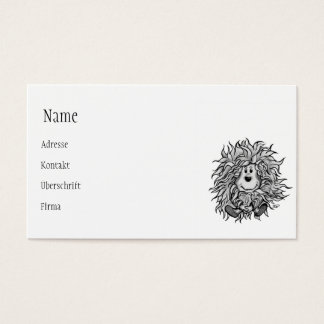 Fidel The Little Forest Goblin Business Card