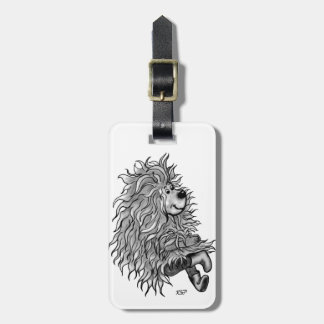 Fidel the little Forest Goblin Luggage Tag