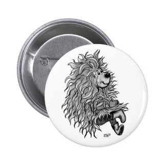 Fidel the little Forest Goblin Pinback Button
