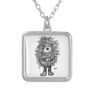 Fidel The Little Forest Goblin Silver Plated Necklace