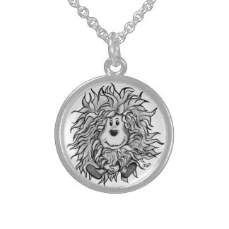 Fidel The Little Forest Goblin Sterling Silver Necklace