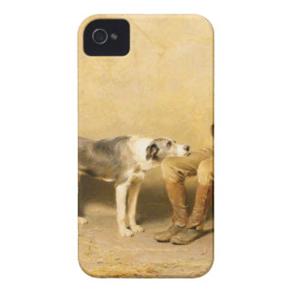Fidelity by Briton Riviere iPhone 4 Case