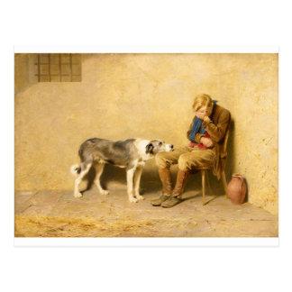 Fidelity by Briton Riviere Postcard