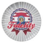 Fidelity, MO Party Plates