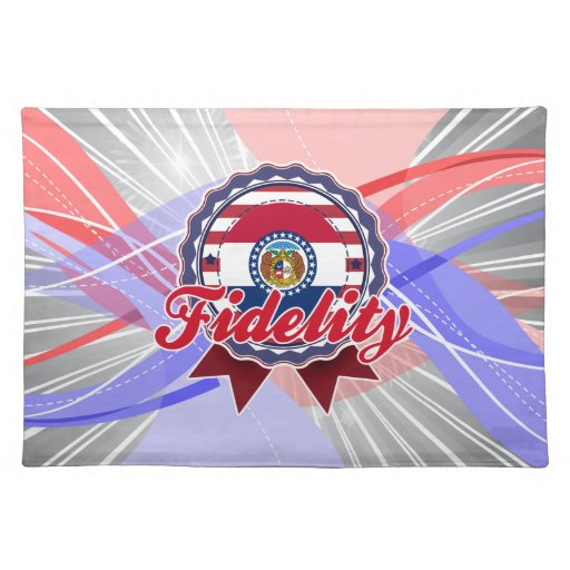 Fidelity, MO Place Mat