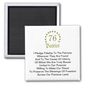 Fidelity Pledge Refrigerator Magnets
