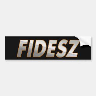 Fidesz – Hungarian Civic Alliance Bumper Sticker