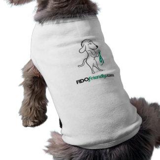 FIDO Friendly dog t-shirt