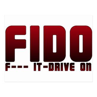 FIDO POSTCARD