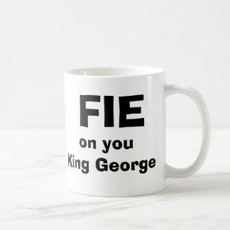FIE en usted rey George Taza Clásica