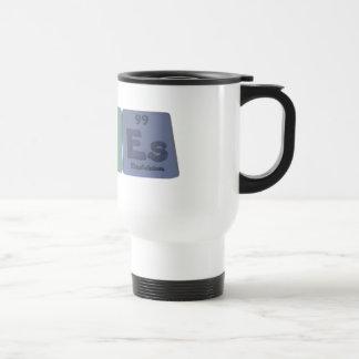 Fiebre-AG-U-Es-plata-uranio-Einsteinio Taza De Café