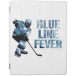 Fiebre de Blue Line Cubierta De iPad