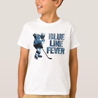Fiebre de Blue Line (hockey) Playera