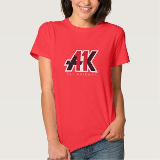 Fiebre de Krieger - la camiseta de las mujeres Playera