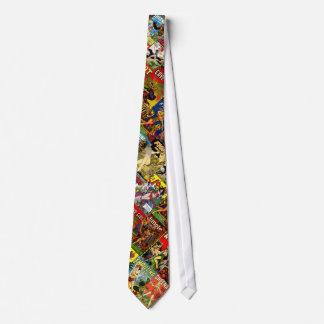 Fiebre de selva corbatas personalizadas