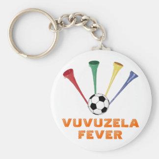 Fiebre de Vuvuzela Llavero Redondo Tipo Pin