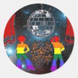 Fiebre del disco etiqueta