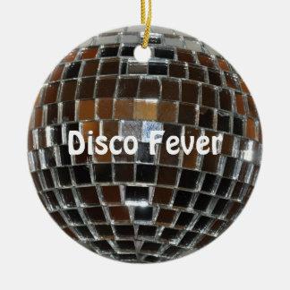 Fiebre del disco - ornamento ornamento de navidad