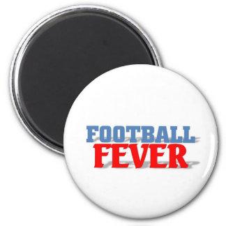 Fiebre del fútbol imanes para frigoríficos