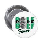 Fiebre del golf pins