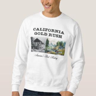 Fiebre del oro de ABH California Pulóver Sudadera