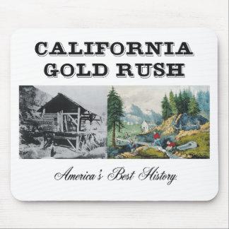 Fiebre del oro de ABH California Alfombrilla De Raton