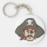 Fiebre del pirata llavero personalizado