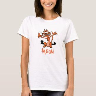 Fiebre del rasguño de la camiseta/de gato de DBD Playera