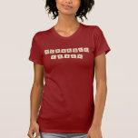 Fiebre del Scrabble Camisetas