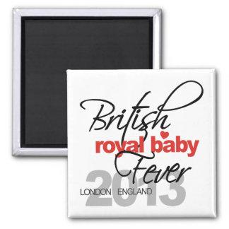 Fiebre real británica del bebé - príncipe George Imanes De Nevera