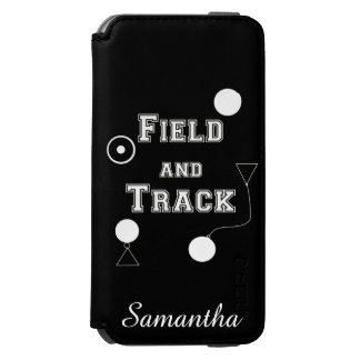 Field and Track thrower iPhone 6/6s Wallet Case