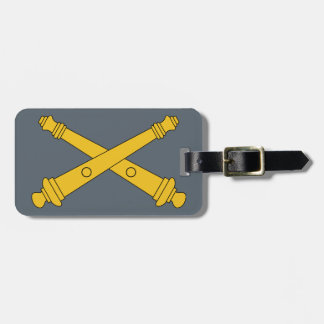 Field Artillery Insignia Tag For Luggage