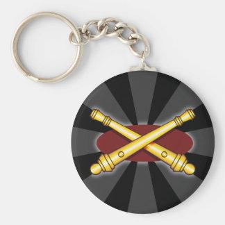 Field Artillery Keychain