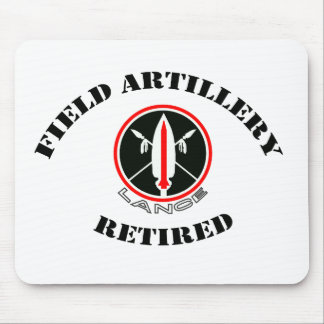 Field Artillery Lance Missile Retired Mouse Pad