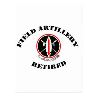 Field Artillery Lance Missile Retired Postcard
