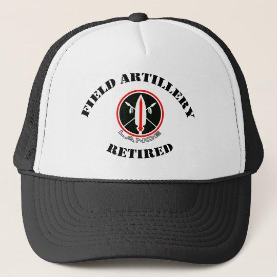 Field Artillery Lance Missile Retired Trucker Hat