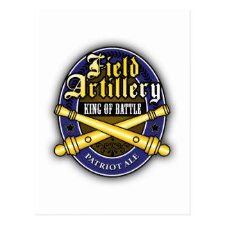 Field Artillery Patriot Ale Post Cards