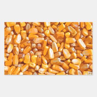 Field Corn (kernals) Rectangular Sticker