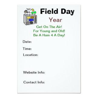 Field Day Ham Radio Invitations - Customize It!