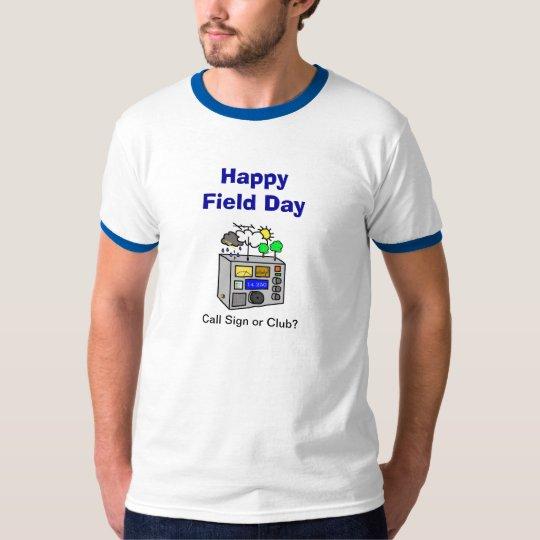 Field Day Ham Radio T-Shirt - Customize It!